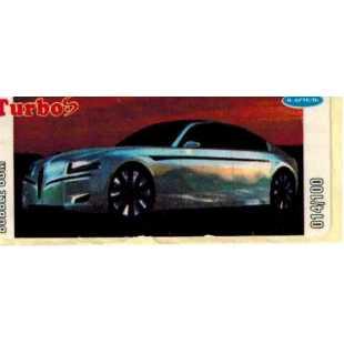 Вкладыш наклейка Turbo 14
