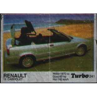 Вкладыш жвачки Turbo 241