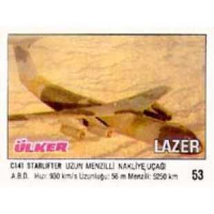 Вкладыш жвачки Lazer 53