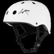Защитный шлем Los Raketos Atak13 Matt White (L)
