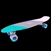 Круизер пластиковый TT Tricolor 27 (2018) Голубой/серый/розо...