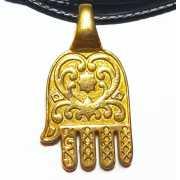 Кулон Хамса Рука Фатимы, золото 585...