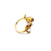 Кольцо Имя Розы, золото 750