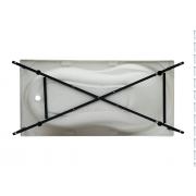 Каркас сварной для акриловой ванны Aquanet Izabella 160x75...