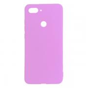 Силиконовый чехол для Xiaomi Mi8 Lite (Розовый)...