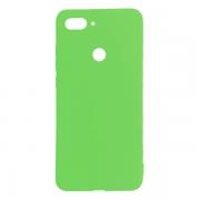 Силиконовый чехол для Xiaomi Mi8 Lite (Зеленый)...