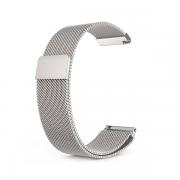 Сменный браслет Amazfit Bip миланская петля (Серебро)...