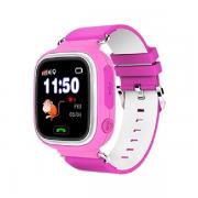 Детские часы с GPS Smart Baby watch Q90 (Pink)