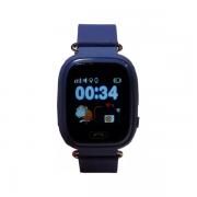 Детские часы с GPS Smart Baby watch Q90 (Dark Blue)...