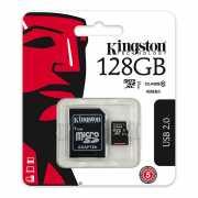 Карта памяти Kingston MicroSD 128Gb Class 10 Ultra Android U...