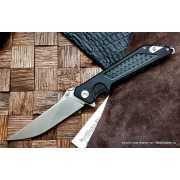 Нож Reptilian Вист 01 сталь D2 Satin, рукоять Black G10...