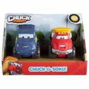 CHUCK & FRIENDS машинки 5 см (набор 2 шт.) Чак и Соку...