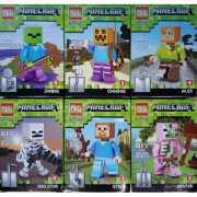 Набор 6 фигурок  Minecraft