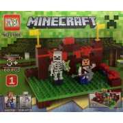 Конструктор  Minecraft Охотник и Скелет (1)...