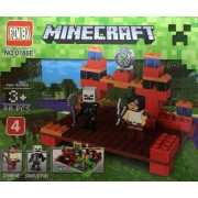 Конструктор  Minecraft Зомби и Скелет (4)...