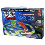 Гоночная трасса Magic Tracks 301 деталь (колесо, мост, перек...