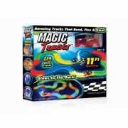 Magic Tracks светящаяся 220 деталей
