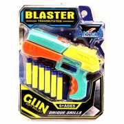 Игрушечный пистолет Blaster Transmutation c 6 пулями...