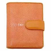 Портмоне на кнопке оранжевого цвета Dr.Koffer X510107-56-58...