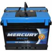 Автомобильный аккумулятор Mercury Special 60А (+/-)...