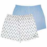 Мужское белье: Комплект из 2 мужских трусов-шортов: голубые ...