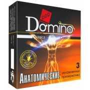 Презервативы: Презервативы анатомической формы Domino  Анато...