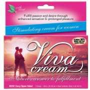 Возбуждающие: Стимулирующий крем VivaCream для женщин - 30 м...