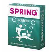 Презервативы: Презервативы SPRING BUBBLES с пупырышками - 3 ...