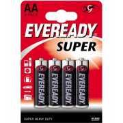 Элементы питания и аксессуары: Батарейки EVEREADY SUPER R6 т...