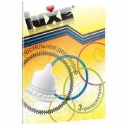 Презервативы: Презервативы Luxe  Постельное двоеборье  с реб...