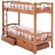 Кровать двухъярусная Ника массив...