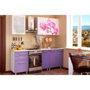 Кухня с фотопечатью Орхидея 1,6 МДФ...