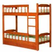 Кровать двухъярусная Алиса массив...