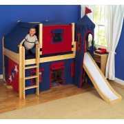 Кровать-чердак Замок