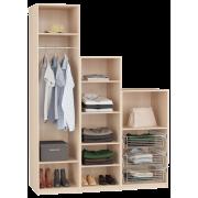 Шкаф для гардеробной Дели 31