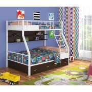 Кровать двухъярусная Радуга-1