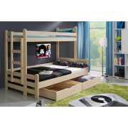 Кровать двухъярусная Орленок с матрасом...