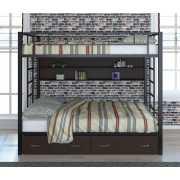Кровать двухъярусная Валенсия Твист 120.3...