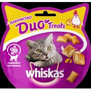 Лакомство для кошек Whiskas Duo курица, сыр 40г...
