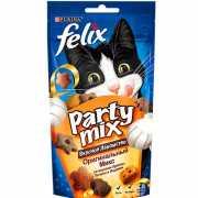 Лакомство для кошек FELIX Party mix Оригинал Микс 60г...