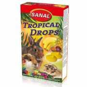Лакомство для грызунов SANAL Tropical Drops (тропические) др...