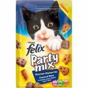 Лакомство для кошек FELIX Party mix Сырный Микс 20г...