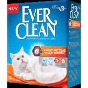 Наполнитель для кошачьего туалета EVER CLEAN Fast Acting Мгн...