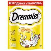 Лакомство для кошек Dreamies с сыром 140г...