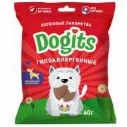 Лакомство для собак Dogits функциональное гипоаллергенное 60...
