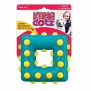 Игрушка для собак KONG Dotz квадрат малый 9см...
