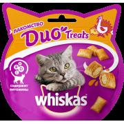 Лакомство для кошек Whiskas Duo индейка, сыр 40г...