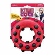 Игрушка для собак KONG Dotz кольцо малое 9см...