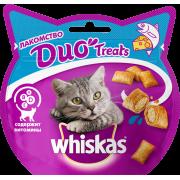 Лакомство для кошек Whiskas Duo лосось, сыр 40г...
