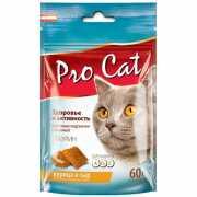 Лакомство для кошек Pro Cat Подушечки